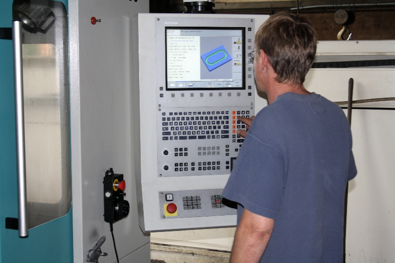 Übergabe des Modells an Maschine