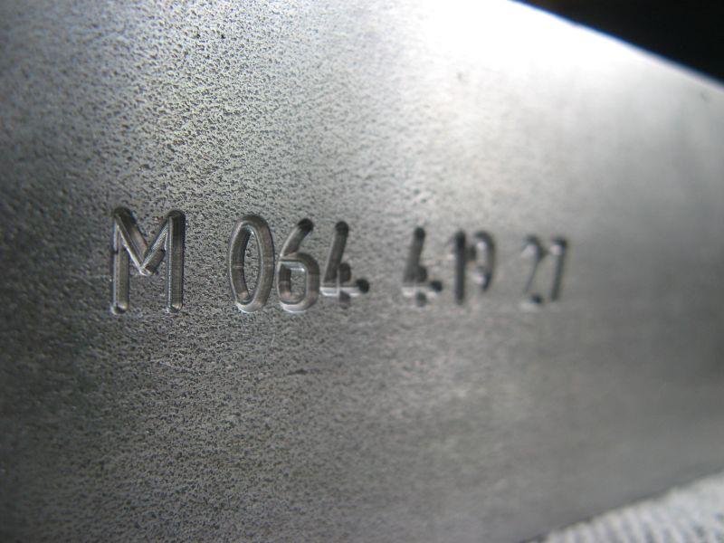 Bauteil-Kennzeichnung